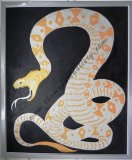 GOLD AND SILVER SERPENT